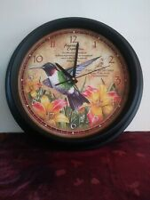 American Expedition Hummingbird Clock 16 Inches