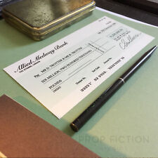 Only Fools and Horses - Prop £6.2 Million Bank Cheque / Trotter Auction Check