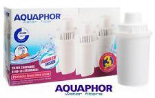 3 AQUAPHOR Water Filter Jug Pitcher Replacement Cartridges Classic Size Set of 3