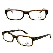 fd6837ffc7a 40 Ray Ban Rb5187 2445 Rectangle Havana Green Eyeglasses Optical Frame  52-16-140