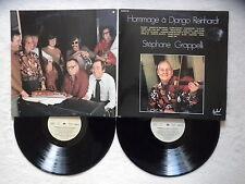 "2 LP STEPHANE GRAPPELLI ""Hommage à Django Reinhardt"" FESTIVAL ALBUM 120 FR §"