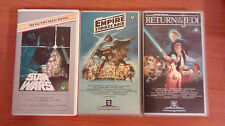 Star Wars Trilogy - Ultra Rare - VHS - CBS / Fox All Time Greats Collection