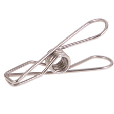 D.Line Stainless Steel (Grade 304) Wire Clothes Pegs - 36 peg pack
