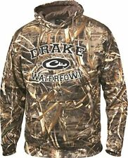 DRAKE Wildfowlers/Pigeon shooters Max 5 Camo Hoodie Size Large
