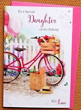 Special Daughter Bithday Card, Outdoors Larger Quality Daughter Birthday Card