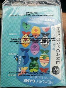 Chick-Fil-A Kids Petit Collage KIDS Gone Fishing Memory Game