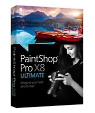 Corel PaintShop Paint Shop Pro X8 Ultimate Full Retail for Windows FAST POST