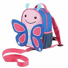 Skip Hop Butterfly ZooLet Toddler Backpack With Reins Ages 12 Months