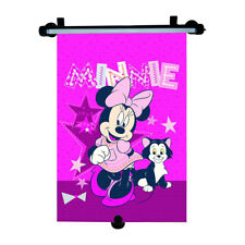 Genuine Disney Minnie Mouse Car Sun Shade Roller Window Blind for Kids