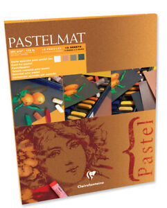 Clairefontaine PastelMat Pads - 6 pad choices in assorted colours & sizes