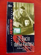 VHS.05) IL BACIO DELLA PANTERA - HOBBY & WORK (di Jacques Tourneur 1942)