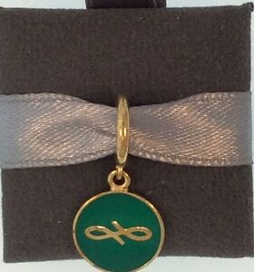 Endless Charm #53345-10 Green Endless Coin - Authentic Retailer -50% Off
