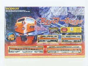 HO Scale Bachmann 00689 Royal Gorge Passenger Train Set w/ Diesel Locomotive