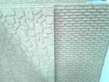 2 Fogli di sughero 50x50cm spesso 1 cm pavimento e mattoni presepe crib shepherd