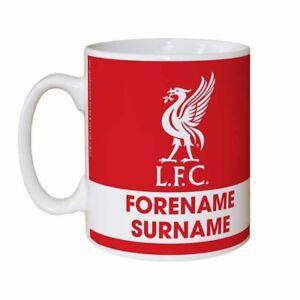 Personalised LIVERPOOL Football Club FC Eat Sleep Drink Mug Gift Fan LFC