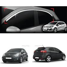 Chrome Window Frame Garnish Molding For KIA RIO Hatchback 2012-2017