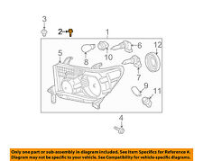 TOYOTA OEM-Headlamp Assembly Screw 90159A0034