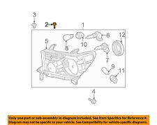 TOYOTA OEM-Headlamp Assembly Screw 90159A0034