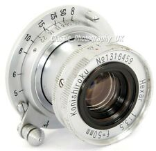 EXTREMELY RARE!! Konica Hexar KONISHIROKU 1:3.5 f=50mm f3.5 Leica LTM / L39 Lens