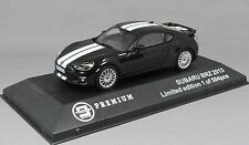 Triple 9 Models Subaru BRZ in Black with White Stripes 2013 T9P10023 Ltd 504