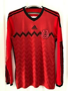 ADIDAS ADIZERO MEXICO SOCCER JERSEY PLAYER ISSUE 50 YEARS OF MEXICO WC