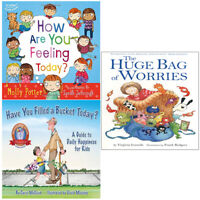The Huge Bag Of Worries,Have You Filled A Bucket Today 3 Books Collection Set