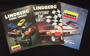 Lindberg Plastic Kit Dealers Shop Catalogues 1993 1994 1995 very good condition