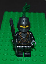Lego Minifigure Dragon Knight Scale Mail Closed Helmet