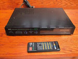 YAMAHA DSP-1 Digital Sound Field Processor with remote.