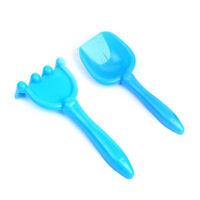 2X/set Sand Water Beach Play Toy Set Kids Seaside Shovels Rake Kits Funny ToolJC