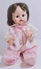 "Madam Alexander Sweet Tears Baby Doll Vintage 1965 13"" Brunette"