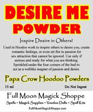 Desire Me Hoodoo Voodoo Powder Sex Sexual Passion Attract Lover Mate Partner Now