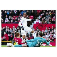 Jermaine Beckford Signed Leeds United Photo Leeds Utd Autograph Memorabilia