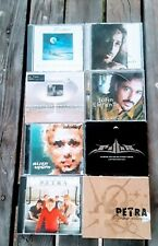 Mixed Lot Of 9 Cd's Contemporary Christian Artists Pop/Rock Christian Music Vg/G
