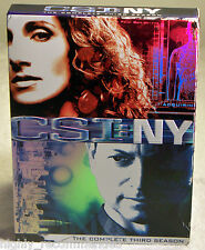 CSI: New York - The Complete Third Season (DVD, 2007, 6-Disc Set)