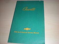 Do It Yourself Service Manual 1979 Chevrolet Chevette