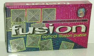 Fusion Optical Illusion Puzzle by Lagoon games 2001