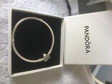 Pandora Pulsera de la familia mouments corazón broche serpiente