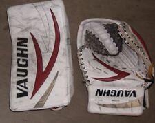 PHOENIX COYOTES Mark Visentin game-used Vaughn catcher+blocker (2013-14 season)