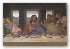 The Last Supper, 1498 (detail) Leonardo da Vinci Art Print 22x36