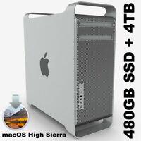 Apple Mac Pro 5,1 6Core 12T 3.46GHz 64GB Ram 5870 1GB | 4TB Storage | 480GB SSD