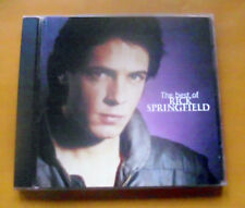"""CD """" RICK SPRINGFIELD - THE BEST OF """" 16 GREATEST HITS (DON'T WALK AWAY)"""