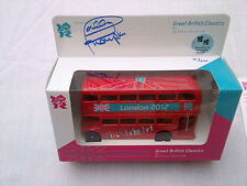 London 2012 Olympics Signed Daley Thompson Ltd Edition Die Cast Routemaster Bus
