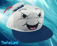 New Ghostbusters Stay Puft Mens Classic Vintage Snapback Cap Hat