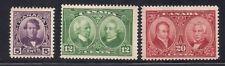 Canada 1927 Sc #146-48 MLH Scv.41 (40281)