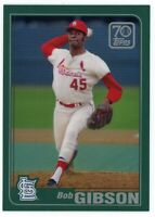 BOB GIBSON 2021 Topps 70 Years Of Topps REFRACTOR #70YTC-51 St Louis Cardinals