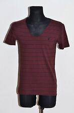 AllSaints Women's Striped V Neck T-Shirts for Men