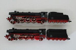 8515/41- Zwei Fleischmann Spur N Dampfloks mit BR 01