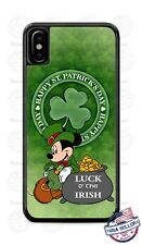 St Patrick's Day Irish Luck Mickey Mouse Phone Case Cover For iPhone Samsung LG
