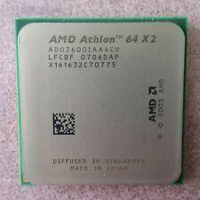 AMD Athlon 64 X2 3600+ ADO3600IAA4CU 2.0ghz Dual Core Socket AM2 CPU Processor